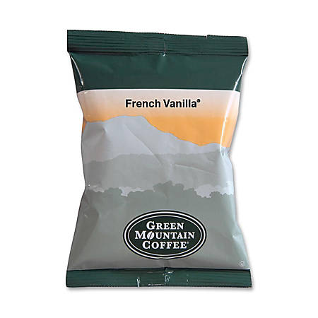 Green Mountain Coffee® French Vanilla Coffee, 2.2 Oz, Box Of 50