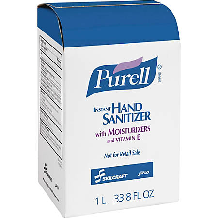 Purell® Instant Hand Sanitizer Foam, 33.8 Oz., Carton Of 8 (AbilityOne 8520-01-522-0828)