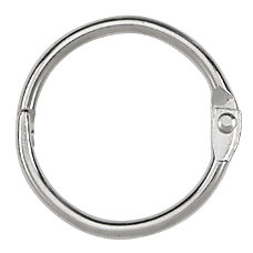 ACCO Loose Leaf Rings 1 Diameter