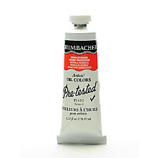 Grumbacher P142 Pre Tested Artists Oil