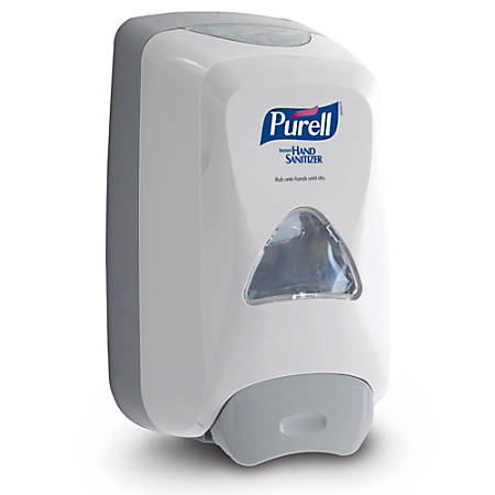 "Purell® Instant Hand Sanitizer Foam Dispenser, 11""H x 6 5/8""W x 5 1/8""D, Gray"