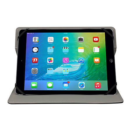 "Lifeworks Mag Book 360 Universal Magnetic Folio For 9-10"" Tablets, Black"