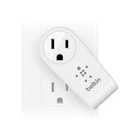 Belkin® Boost Up 2-Port USB Swivel Charger And Outlet, White, F8M102TT
