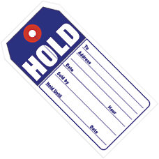 Office Depot Brand Retail Tags HOLD
