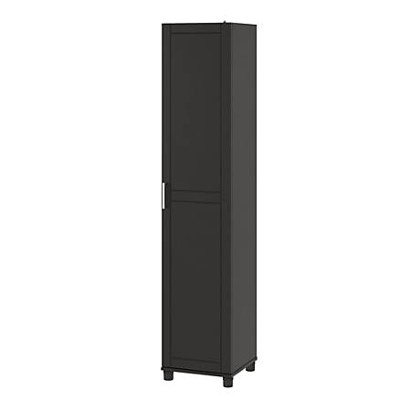 "Ameriwood™ Home Callahan 16"" Utility Storage Cabinet, 5 Shelves, Black"