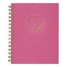 Cambridge Ivory Ella Paisley Spiral Notebook