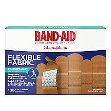 Band Aid Brand Flexible Fabric Bandages