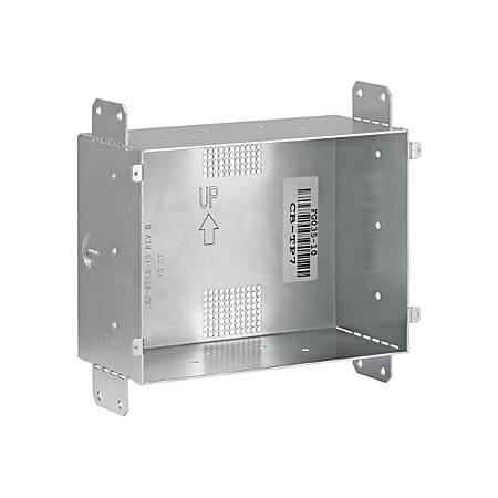 """AMX CB-TP7 - Mounting kit (2 screws, rough-in box) for touchscreen - screen size: 7"""" - wall-mountable"""