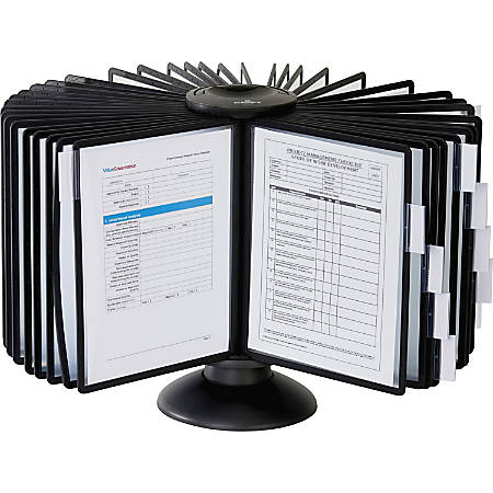 Sherpa® Carousel 40-Panel Reference System, Black