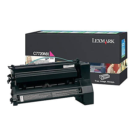 Lexmark™ C7720MX Magenta High-Yield Toner Cartridge