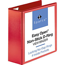 Sparco Easy Open Nonstick D Ring