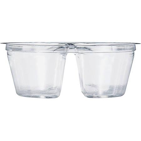Dart Cup Inserts - 3 fl oz Cup, Cup Insert - Polyethylene Terephthalate (PET) - Clear - 500 Piece(s) / Carton