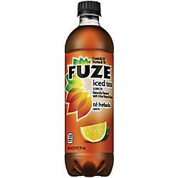 Fuze Tea With Lemon 20 Oz