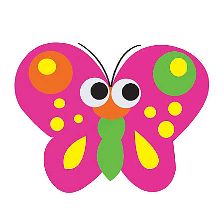 "Ashley Productions Magnetic Whiteboard Eraser, Butterfly, 3 1/2""H x 3""W x 3/4""D"