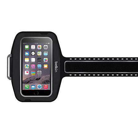 Belkin® Sport-Fit Plus Armband For Apple® iPhone® 6 Plus, Black