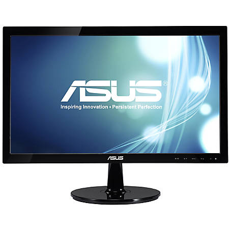 "ASUS® 20"" LED Monitor, Black, VS208N-P"