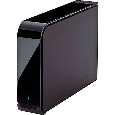 Buffalo™ DriveStation™ Axis Velocity 3TB External Hard Drive, SATA/USB 3.0 , HD-LX3.0TU3, Black