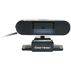 Gear Head WC8500HD Webcam 2 Megapixel