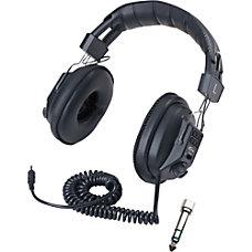 Califone Switchable StereoMono Mono Stereo Black