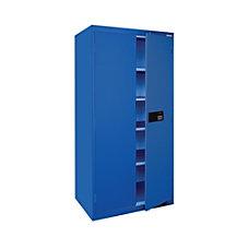 Sandusky Keyless Electronic Storage Cabinet 72