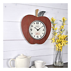 FirsTime Co Apple Orchard Wall Clock