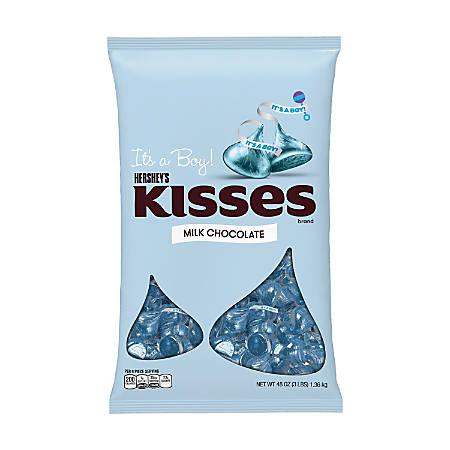 Hershey's® Kisses, It's A Boy, 48 Oz Bag