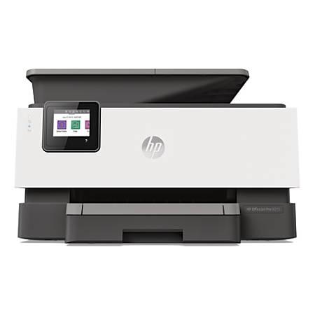 HP OfficeJet Pro 9015 Wireless Color Inkjet All-In-One Printer, Copier, Scanner, Fax, 1KR42A#B1H