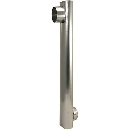 Deflecto Dryer Vent Periscope - for Dryer - Aluminum