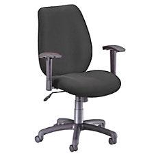 OFM Ergonomic Fabric Chair 40 H