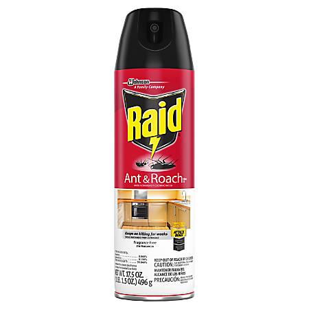 Raid Ant & Roach Killer, 17.5-Oz Spray Canister