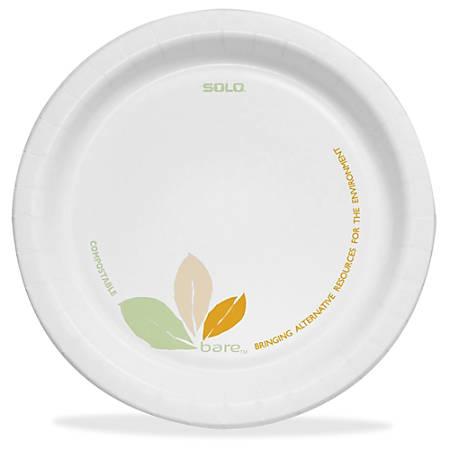 Bare Paper Dinnerware Plates 6 Diameter