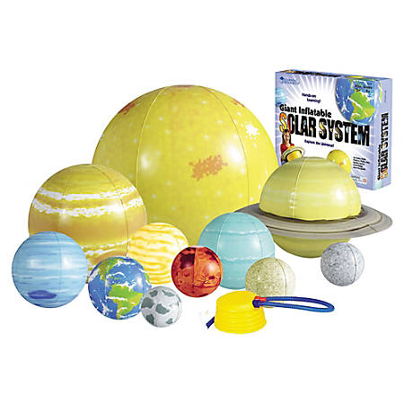 Learning Resources Inflatable Solar System, Grades K - 9