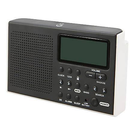 GPX Portable Shortwave R616W AM/FM Radio