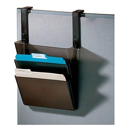 Office Depot® Brand Letter-Size Hanging Pocket Set, Black