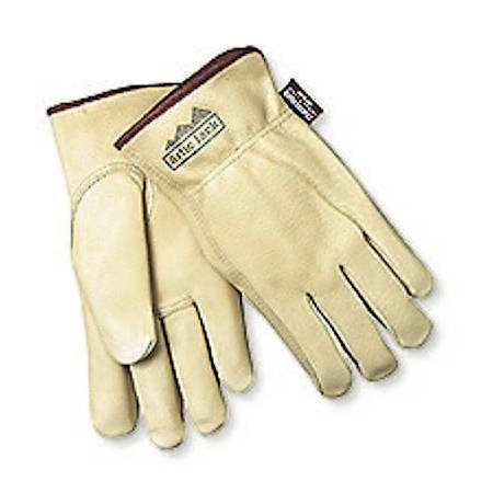 Memphis Glove Insulated Premium-Grain Pigskin Leather Drivers' Gloves, Large, Pack Of 12