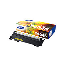Samsung CLT Y404SXAA Yellow Toner Cartridge