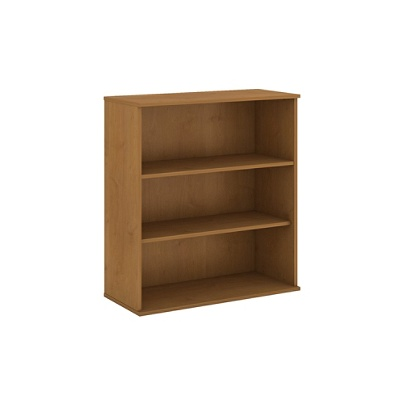 Bush Business Furniture 3 Shelf Bookcase 48 H Natural Cherry Premium Installation By Office Depot Officemax