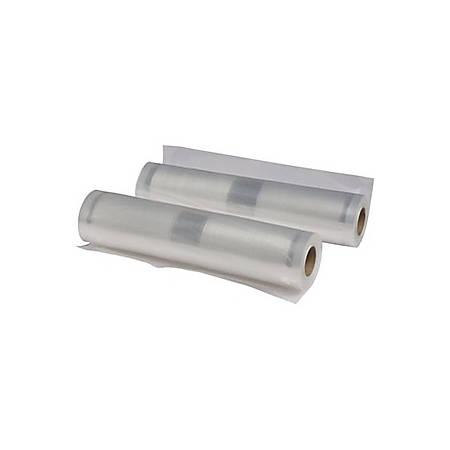 "Nesco 2 Vacuum Sealer Rolls (7.9"" x 19.70') - 7.90"" Width x 19.70 ft Length - Nylon, Polyethylene - 2Roll - Food"