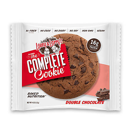 Complete Cookie Double Chocolate Cookies, 4 Oz