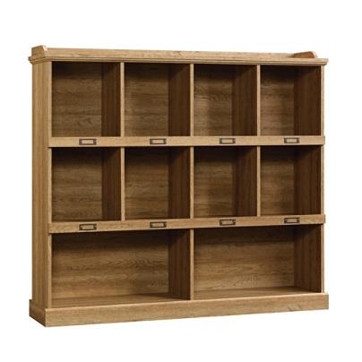 Sauder Barrister Lane Cubby Bookcase Scribed Oak Item 8685026