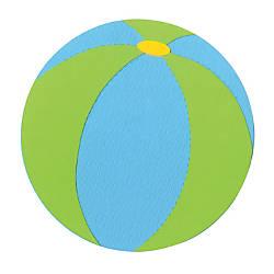 Sizzix Bigz Die Beach Ball