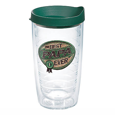 Tervis Hallmark® Best Papa Ever Tumbler With Lid, 16 Oz, Clear