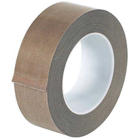 "Office Depot® Brand PTFE Glass Cloth Tape, 3 Mils, 3"" Core, 1.5"" x 54', Brown"
