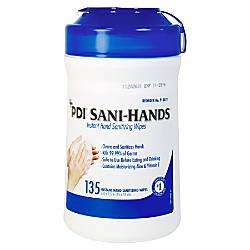 Unimed Sani Dex Alcohol Wipes 6