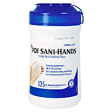 Unimed Sani Dex Alcohol Wipes 6