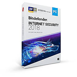 Bitdefender Internet Security 2018 3 Users