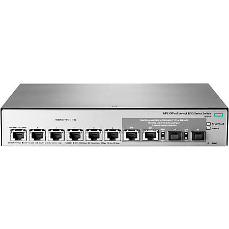 HPE OfficeConnect 1850 6XGT And 2XGT/SPF+ Switch, JL169A