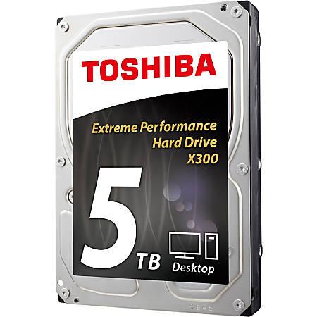 """Toshiba X300 HDWE150XZSTA 5 TB Hard Drive - 3.5"""" Internal - SATA (SATA/600) - 7200rpm - 128 MB Buffer - 2 Year Warranty"""