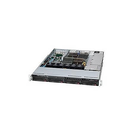 Supermicro A+ Server 1022G-NTF Barebone System - 1U Rack-mountable - AMD SR5670 Chipset - Socket G34 LGA-1944 - 2 x Processor Support - Black