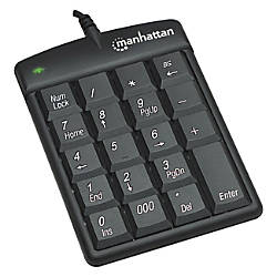 Manhattan USB Numeric Keypad with 19